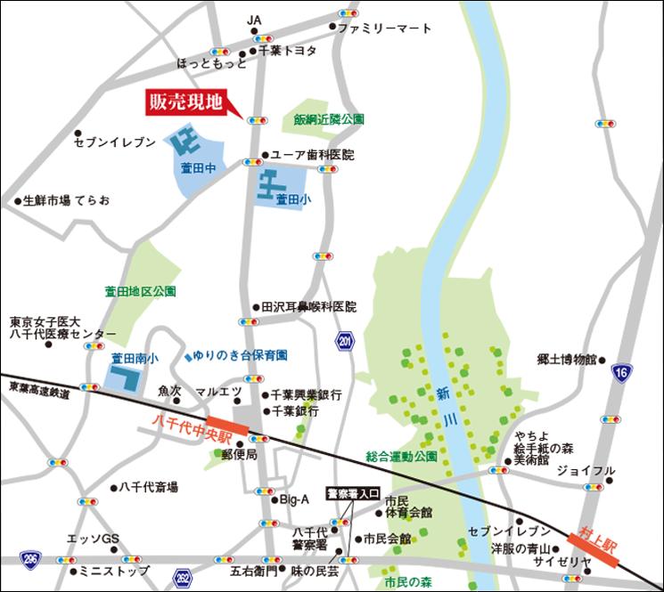 簡易な地図作成例